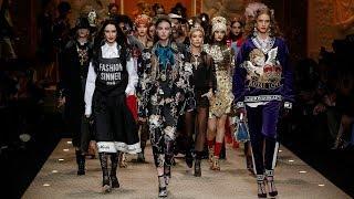 Download Dolce&Gabbana Fall Winter 2018/19 Women's Fashion Show Video