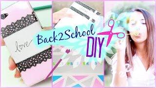 Download 5 Back to School DIYs I Ordnen, Notieren & co I #B2SConSofia Video