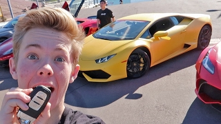 Download Driving my first Lamborghini! (BRAND NEW) Video