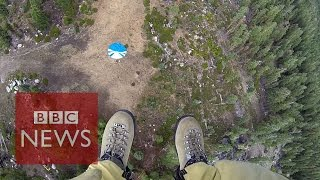 Download Smokejumpers: Into fire with California's elite firefighters - BBC News Video