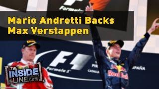 Download Mario Andretti backs Max Verstappen Video