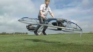 Download Homemade Hoverbike Video