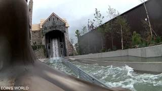 Download Tayto Park Flume Full On Ride (Viking Voyage in the Park) Opening Day June 16 2017 Video