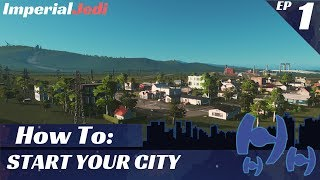 Download Cities: Skylines - How to Start Your City - UPDATED FOR 2017 Video
