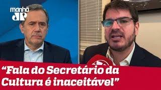 Download Villa e Constantino criticam postura de secretário da Cultura: 'Inaceitável' Video