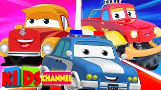 Download Cars Cartoon | Street Vehicle Videos for Babies | Live Stream Video