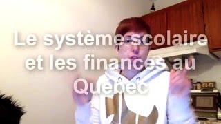 Download SPEECH : Système scolaire et les finances au Québec Video