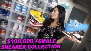 Download BIGGEST FEMALE HYPEBEAST SNEAKER COLLECTION!! *BEST ON YOUTUBE* Video