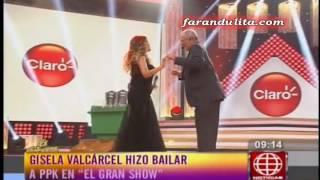 Download AE: Gisela Valcarcel hizo bailar a PPK en ″El Gran Show″ [09-05-2016] Video