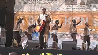 Download Khuzani Indlamlenze Mpungose live at Moses Mabhida Stadium Video