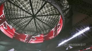 Download Mercedes-Benz Stadium In NFL Madden '17 Video