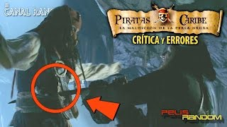 Download Errores de Películas Piratas del Caribe la Maldición de la Perla Negra Review Crítica WTF PQC Video