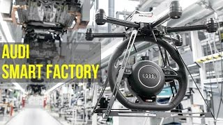 Download 2016 Audi Smart Factory - Future of Audi Production Video