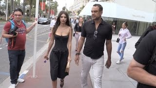 Download Emily Ratajkowski walks on the Croisette in Cannes Video