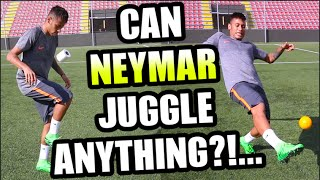 Download Can NEYMAR Juggle ANYTHING???... Video