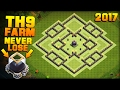 Download Clash of Clans | No.1 BEST TH9 FARMING BASE 2017 + PROOF!! | 98% SUCCESS RATE AT DE PROTECTION! Video