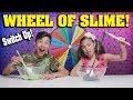 Download MYSTERY WHEEL OF SLIME CHALLENGE - SWITCH UP!!! Making Slime with Cereal and Popcorn! Video