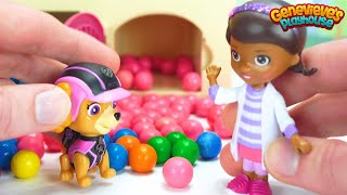 Download Best Learn Colors for Kids Video - Paw Patrol Pups are Sick - Doc McStuffins helps PawPatrol Pups! Video
