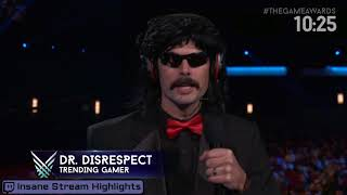 Download DrDisrespect Wins Trending Gamer 2017 - THE GAME AWARDS 2017 Video