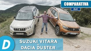 Download Comparativa 4x4 ¡al límite!: Dacia Duster 4x4 vs Suzuki Vitara | Prueba Offroad | Diariomotor Video
