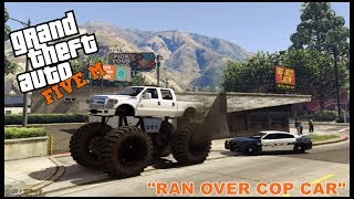 Download GTA 5 ROLEPLAY - LIFTED TRUCK VS COP CAR - EP. 201 - CIV Video