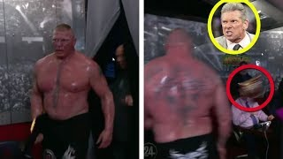 Download 5 Times Brock Lesnar Got ANGRY For REAL in WWE - Why He Threw The Universal Title At Vince McMahon! Video