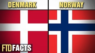 Download The Differences Between DENMARK and NORWAY Video