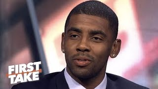 Download Kyrie Irving reveals why he left Cavaliers | First Take | ESPN Video