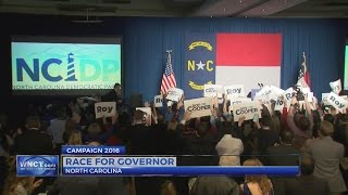 Download Cooper declares victory, McCrory says governor's race too close to call Video