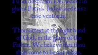 Download Te Deum - 5th Century Monastic Chant (Solemn) Video