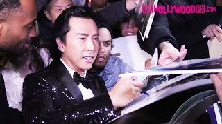 Download Donnie Yen Gets Swarmed By Star Wars Autograph Hounds At The GQ Men Of The Year Party 12.8.16 Video