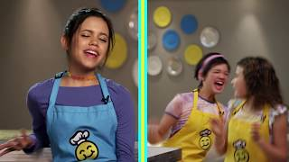 Download Quesadillas: Peyton Elizabeth Lee vs. Jenna Ortega | Be Your Best Snackdown | Disney Channel Video