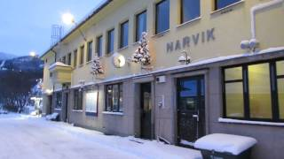 Download Stockholm to Narvik SJ Arctic Circle train at Narvik, Norway Video