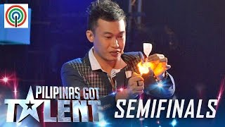 Download Pilipinas Got Talent Season 5 Live Semifinals: Ody Sto. Domingo - Close Up Magician Video