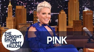 Download P!nk's Son Cries Whenever She Sings Video