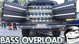 Download Too MUCH BASS for a TAHOE!?!? Playing Kyle's BIGGEST Car Audio Subwoofer Sound System Ever! Video