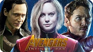Download THE AVENGERS 3 INFINITY WAR Movie Preview 3: Who Will Be In The Movie? (2018) Video