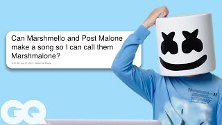 Download Marshmello Goes Undercover on Twitter, YouTube, and Reddit | GQ Video