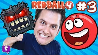 Download Red Ball 4: Into the Caves! GAME Play on iPhone - PART 3 with HobbyKidsTV Video