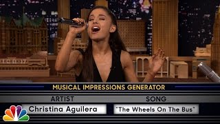 Download Wheel of Musical Impressions with Ariana Grande Video