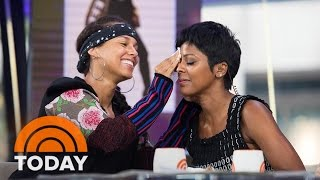 Download Alicia Keys Inspires TODAY's Take Anchors To Shed Their Makeup | TODAY Video