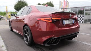 Download Alfa Romeo Giulia Quadrifoglio - Start Up & Acceleration Sound! Video