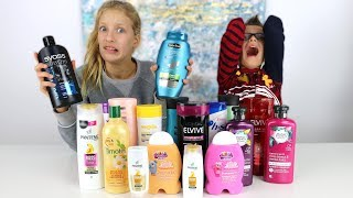 Download Don't Choose the Wrong Shampoo Slime Challenge!!! Video