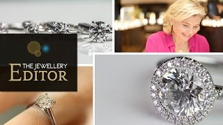Download How to buy the biggest round diamond engagement ring for your budget Video