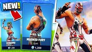 Download NEW MASKED FURY FORTNITE SKIN! Video