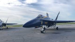 Download United States Navy Blue Angels leave after Cleveland National Airshow 2018 Video