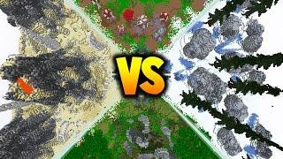 Download 50 vs 2 VOLCANO FAN BATTLE! - with PrestonPlayz & JeromeASF Video