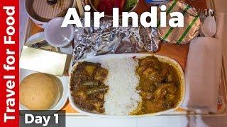 Download Bangkok to Mumbai on Air India (Food Review) Video