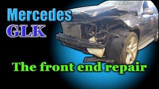 Download Mercedes GL. The front end repair. Ремонт переда. Video