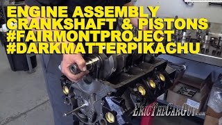 Download Engine Assembly Crankshaft & Pistons #DarkMatterPikachu #FairmontProject Video